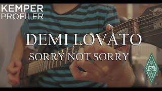 Demi Lovato - Sorry Not Sorry ( Guitar Cover on JP6 BFR Piezo )This is my guitar cover of Demi's new song Sorry Not Sorry. Hope you will like it :)  I've recorded cover on my Music Man jp6 BFR Bahama Blue model using its Piezo system .Online Skype Guitar Lessons , contact me at bojketic@gmail.comMy Gear  :Guitar: Ernie Ball  Music Man JP6 BFR  http://amzn.to/2tf0ohJGuitar Effect Processor:  Kemper Profiler  http://amzn.to/2uCfZrHAudio Interface: Focusrite Scarlet 2i2 http://amzn.to/2uChMAgCamera: Canon 80d http://amzn.to/2t9gsE9Original music video : https://www.youtube.com/watch?v=-MsvER1dpjM