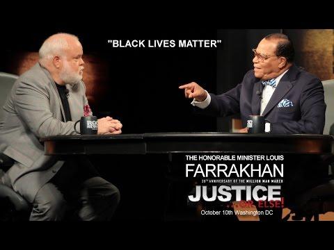 """Minister Farrakhan talks about """"Black Lives Matter"""" Movement"""