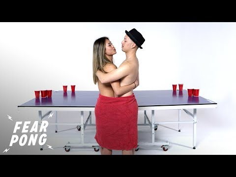 Exes Play Fear Pong (Dalena vs. Mike) | Fear Pong | Cut
