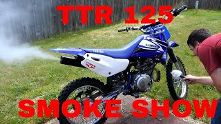I just bought a TTR 125 from Craigslist, what have I got myself into?