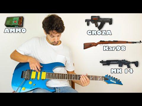 PUBG MOBILE sounds on guitar 2