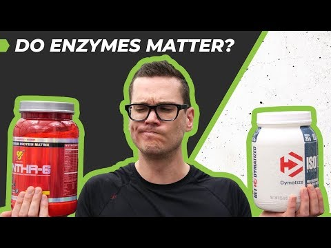 Dymatize Iso 100 Vs BSN Syntha-6 - Do Enzymes Matter?