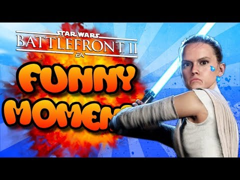 Star Wars Battlefront 2 FUNTAGE [Funny Moments Montage] #6 - Farting Rey!!