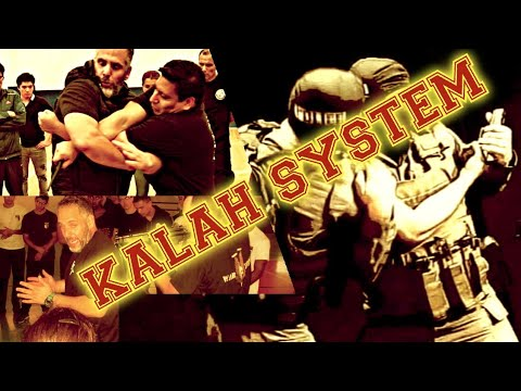 Realistic self defence training KALAH SYSTEM