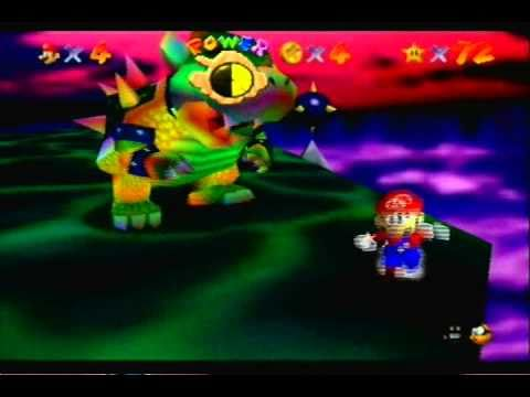Let's Play Super Mario 64-Part 40-Final Bowser Bloopers