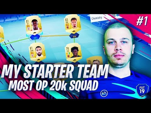 FIFA 19 THE BEST STARTER TEAM w/ MOST OP CHEAP STRIKER - FIRST WINS IN DIVISION RIVALS (видео)