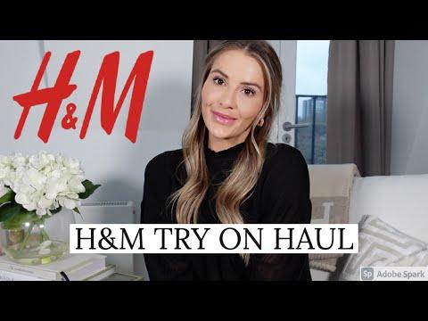 H&M TRY ON HAUL   NADIA ANYA
