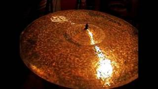 What we have here is a Diril Raw Ride, 21 Inches. It weighs 3030 grams. These videos are intended only as a guide. I am uploading them because there are very few samples of Diril Cymbals available. Please do not judge the actual sound of the cymbals based on these videos, they are so much better than my humble recording equipment could ever illustrate