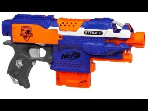 NERF Stryfe Unboxing and Review