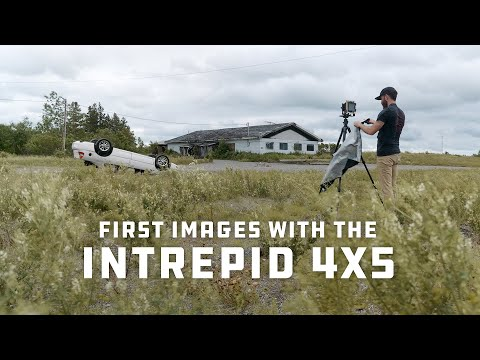 Intrepid 4x5 Review - Falling in Love With Large Format Film