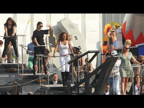 Spice Girls Olympics Rehearsal and More Closing Ceremony