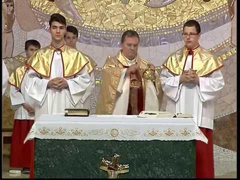2017-06-11 Vasárnapi szentmise a Gazdagréti Szent Angyalok Plébánián