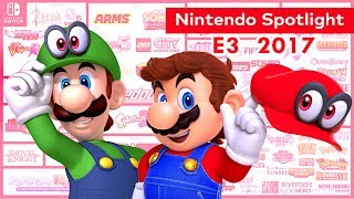 Nintendo concluyó las conferencias previas al E3 con un streaming breve pero auspicioso. Aquí te traemos el resumen.🌍    Redes    🌎► Facebook: https://www.facebook.com/jugamerlandia/ ► Twitter : https://twitter.com/JUGAMER1 ► Instagram: https://www.instagram.com/jugamermania/► Facebook Nilcer: https://www.facebook.com/nilcersan► Visita Nuestra Web:http://jugamerlandia.com/Super Mario OdysseyZelda Breath of the WildYoshiFire Emblem WarriorsMetroid Prime 4Pokémon RPGKirbyXenoblade Chronicles 2Rocket League
