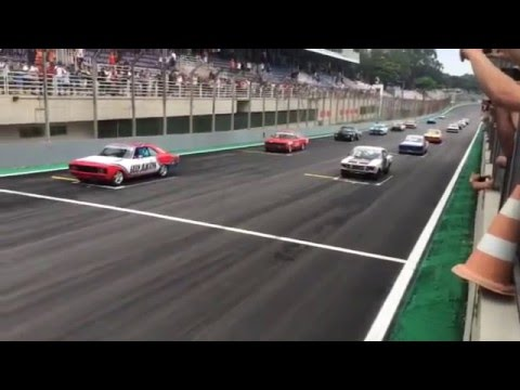 Old Stock Race - Largada da Prova Inaugural em Interlagos - 20/12/2015