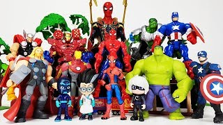 Video Romeo Created The Avengers Clone~!  Hulk, Iron man, Thor, Captain America, Spider Man Toys Play MP3, 3GP, MP4, WEBM, AVI, FLV November 2018