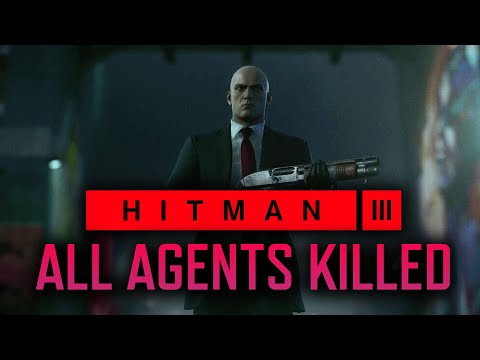 Hitman 3 - Berlin - Killing ALL 11 ICA Agents // Silent Assassin Clean House