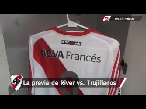 La previa de River vs. Trujillanos