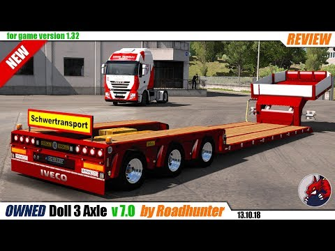 Low loader Doll 3 Axle Owned Trailer in ownership v8.0