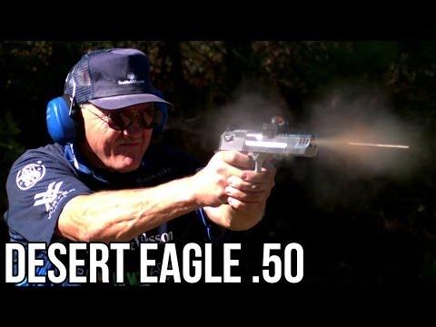 Дезерт Игл. 5 выстрелов за 0.8 секунды