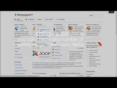 Mega Menu (JAT3 Framework Video #4)