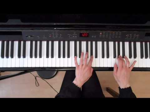 G Sharp Minor Melodic Scale – Both Hands – Piano tutorials