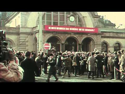 Erfurt 1970: Bundeskanzler Willy Brandt in Erfurt