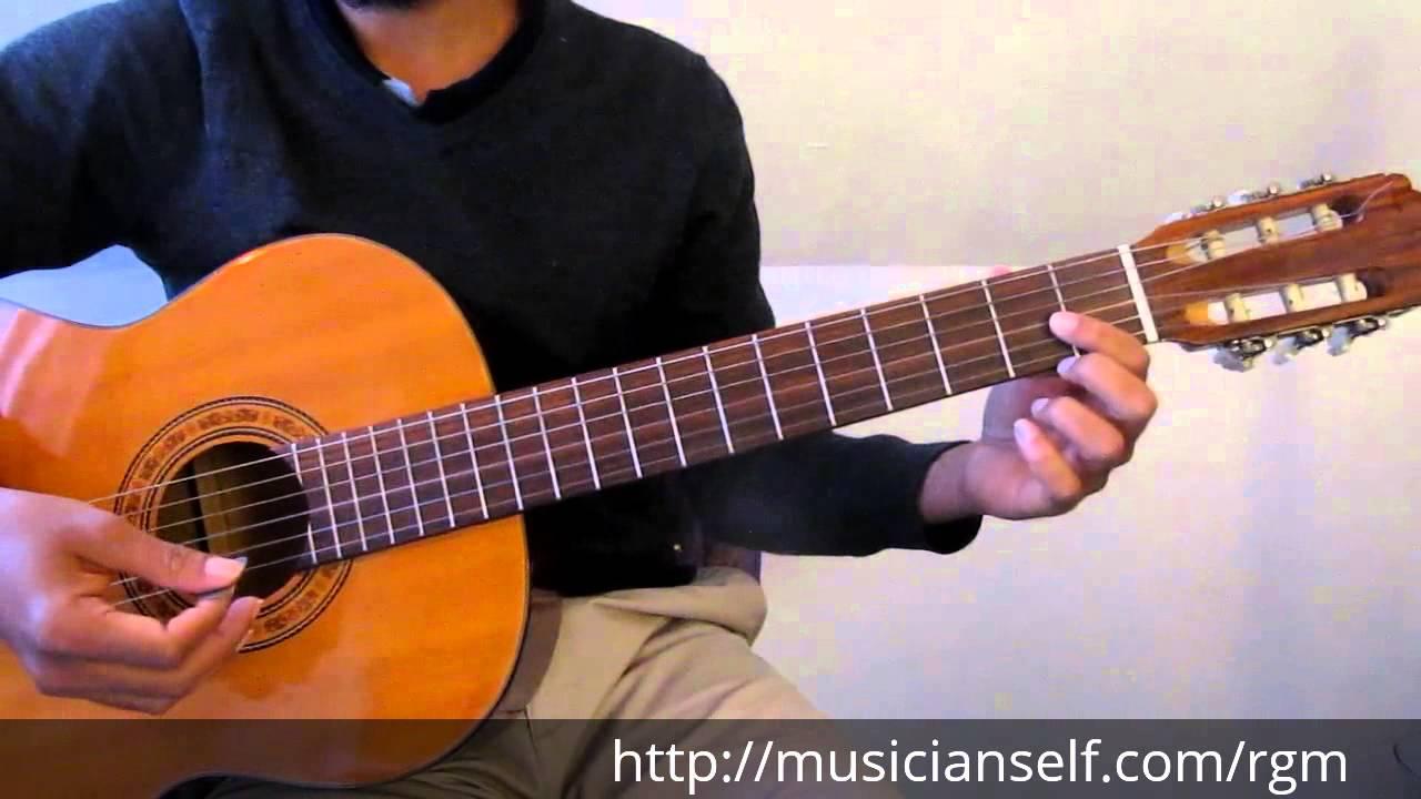 Raga Guitar Mastery Begins – C major scale to Basic Indian Raga Mayamalavagowla (Carnatic Classical)