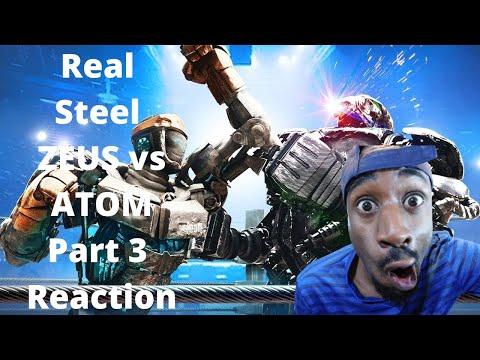Real Steel ZEUS vs ATOM Part 3 Reaction