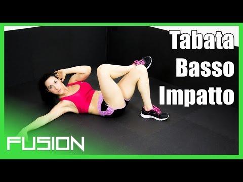 Workout tabata basso impatto - Fusion 03