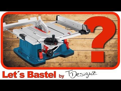 So bedienst du eine Kreissäge |Kreissäge für Anfänger erklärt | Bosch GTS 10 XC