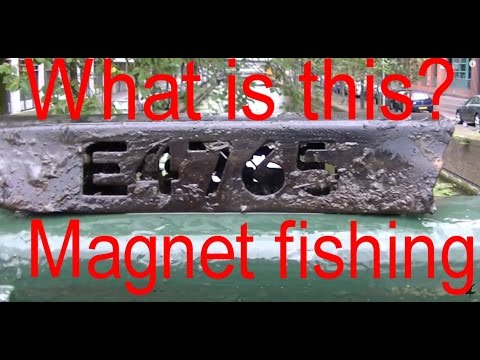 Magnet fishing 22 magneetvissen the hague watch the video for Best places to magnet fish