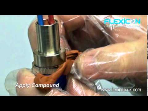 Flexicon EXD Flameproof Barrier Gland installation