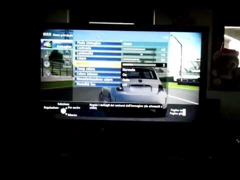Panasonic 46ST30 Forza Motorsport 4 non c'è il Green Ghosting anche se si vede male...