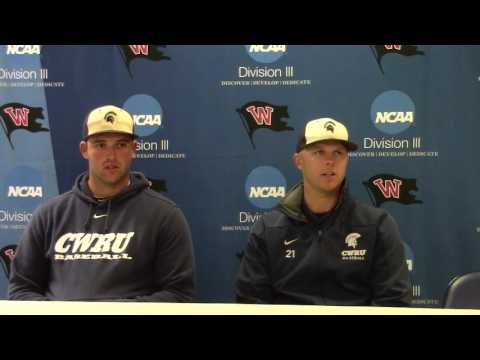 West Regional | Case Western Reserve Day 2 Press Conference