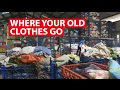 Where Your Old Clothes Go   Trash Trail   CNA Insider