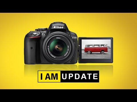 How To Update Firmware Of Nikon D5300 Or Any Other Nikon DSLR. Both 'C' And 'L'.