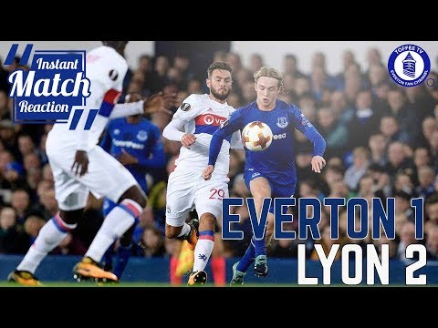 Everton 1-2 Lyon   More Heart , More Fight, But Same Old Story (видео)