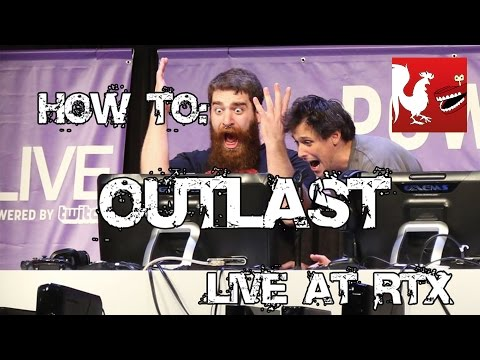 how to - Joel and Adam enlist the help of RTX 2014 attendees for navigation in the 4th part of their Outlast play through. RT Store: http://roosterteeth.com/store/ Ro...