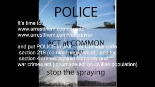 Put CHEMTRAIL cops in Jail