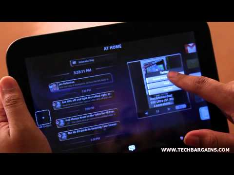 Lenovo IdeaPad Tablet K1 Video Review (HD)