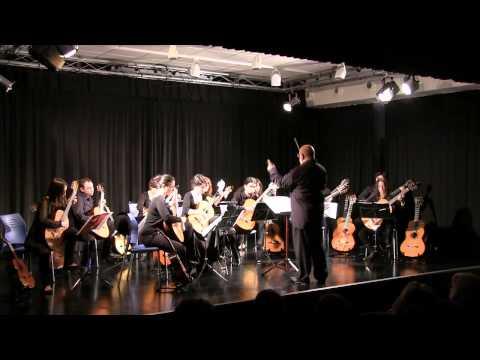 Kaiser-Walzer, Vals del Emperador – J. Strauss II – UAM Guitar Ensemble