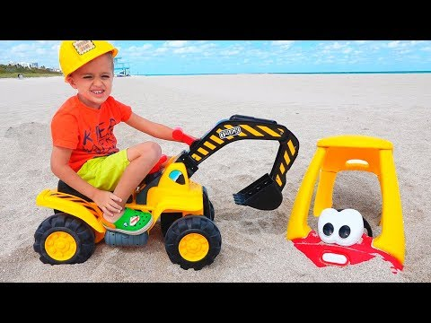 Vlad and Mommy take a rest at the sea and other funny videos collection