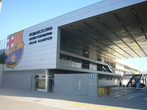 "FC BARCELONA'S TRAINING CENTER ""Joan Gamper"""