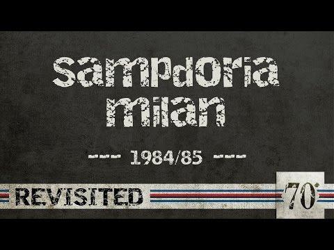coppa italia 1984-85: sampdoria - milan finale - ritorno!