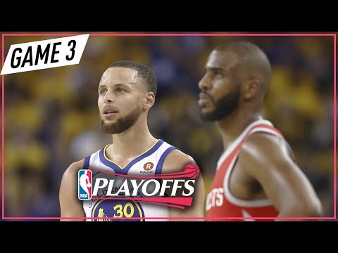 Houston Rockets vs Golden State Warriors - Game 3 - Highlights | May 20, 2018 | 2018 NBA Playoffs (видео)