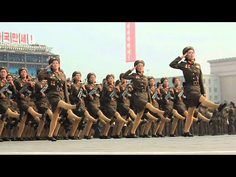 TheGuardian - Click here for a review of the Serpentine pavilion 2013 http://vid.io/xs8 North Korea's Military parade in Slow Motion SUBSCRIBE: http://bit.ly/WHumqY The He...