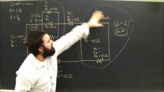 Physics Help: Series And Parallel Circuits Electricity Diagrams Part 5