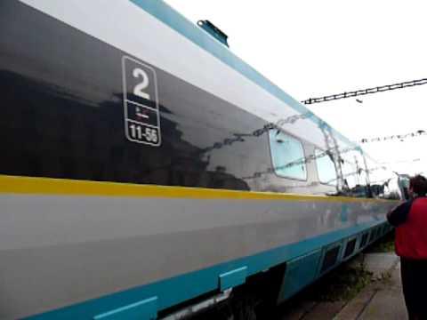 Pendolino Brno - Train Pendolino in Brno