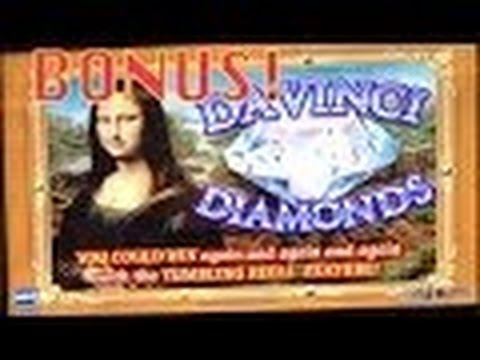 Davinci Diamonds Slot Machine Bonus-Big WIn! Mandalay Bay