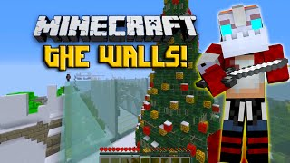 Minecraft The Walls! Christmas Special! w/Nooch Jerome Mitch and Vikkstar!